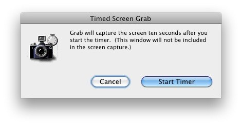 Timed Screen